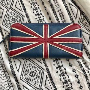 British flag hand wallet
